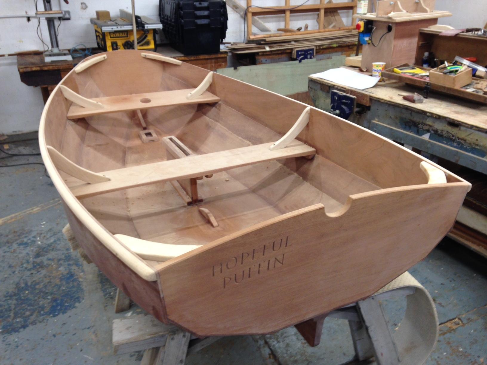 Pram Boat Plans Plywood : Hopeful puffin building a watertight pram dinghy ibtc